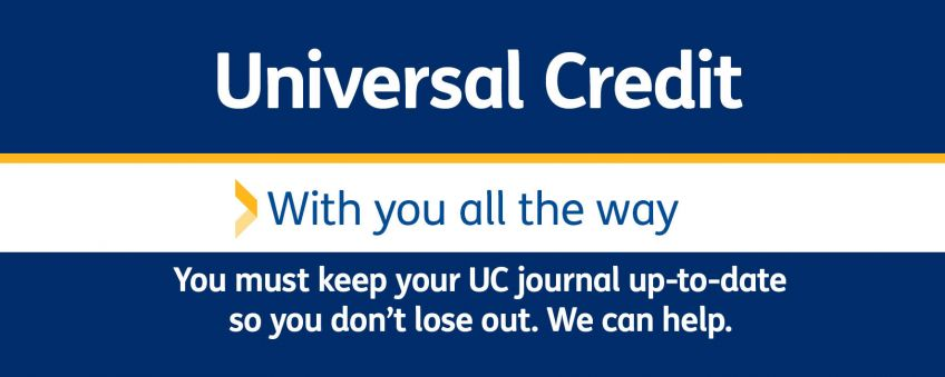 Universal Credit journal letterbox tile DC