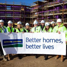 Dunedin Canmore marks start of new homes at Greendykes, Craigmillar