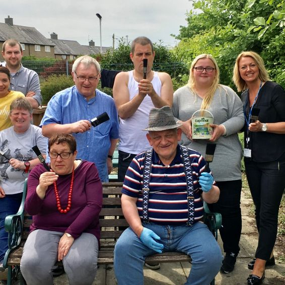 Dunfermline community garden gets a makeover
